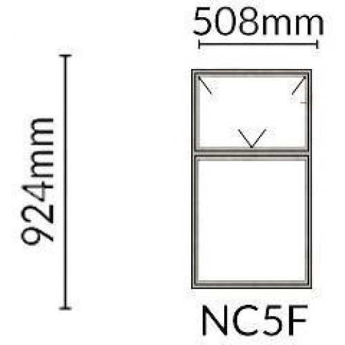 Alpha Builders - Window Frame NC5F Steel (FX7)